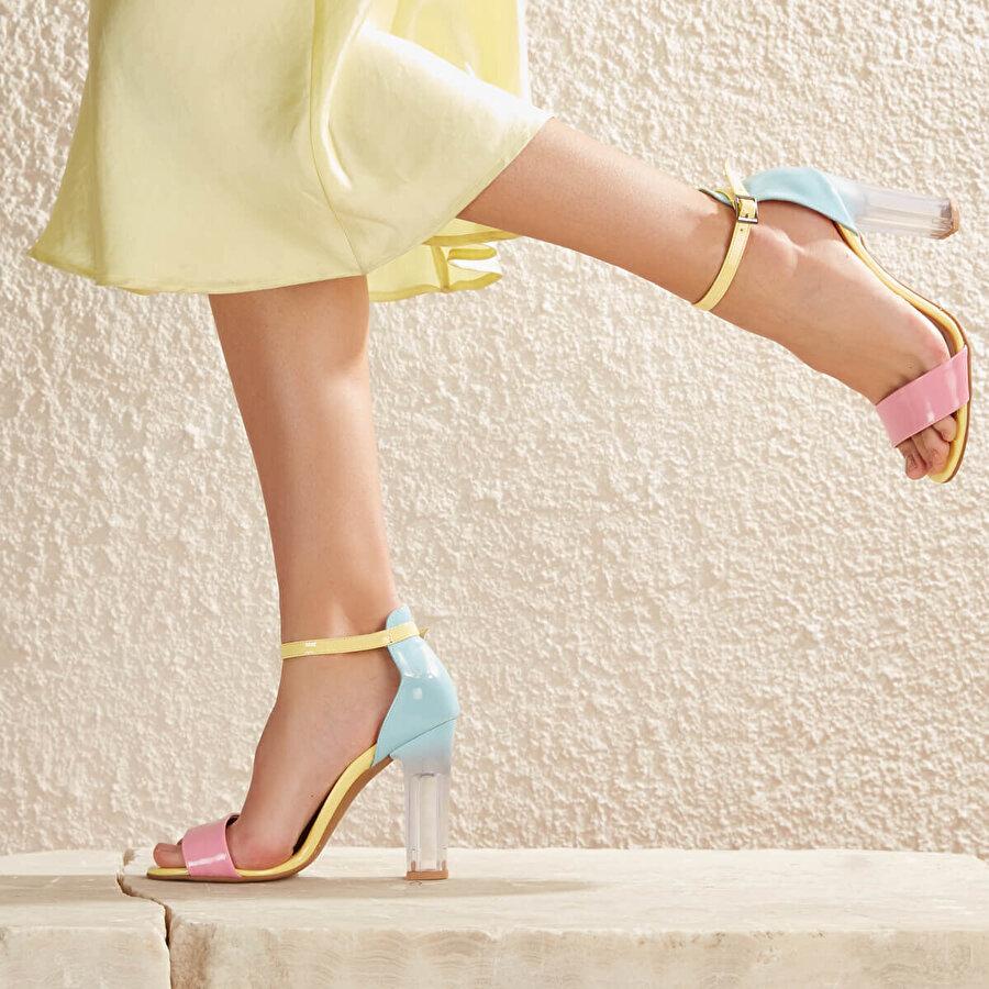Butigo DENVER98Z RUGAN Çok Renkli Kadın Sandalet