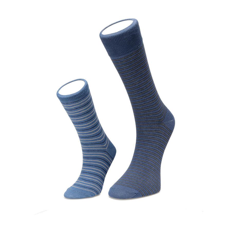 Fiyaka FYK107 BABA OĞUL Mavi Erkek Çorap