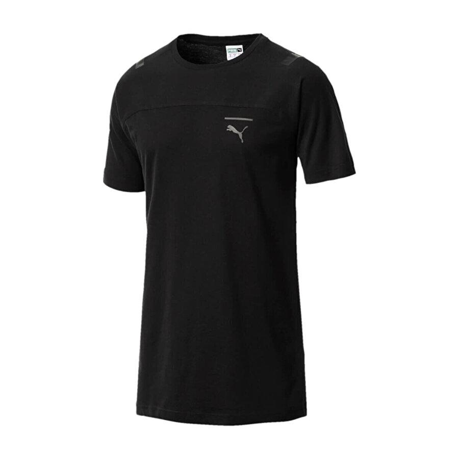Puma PACE TEE Siyah Erkek Kısa Kol T-Shirt