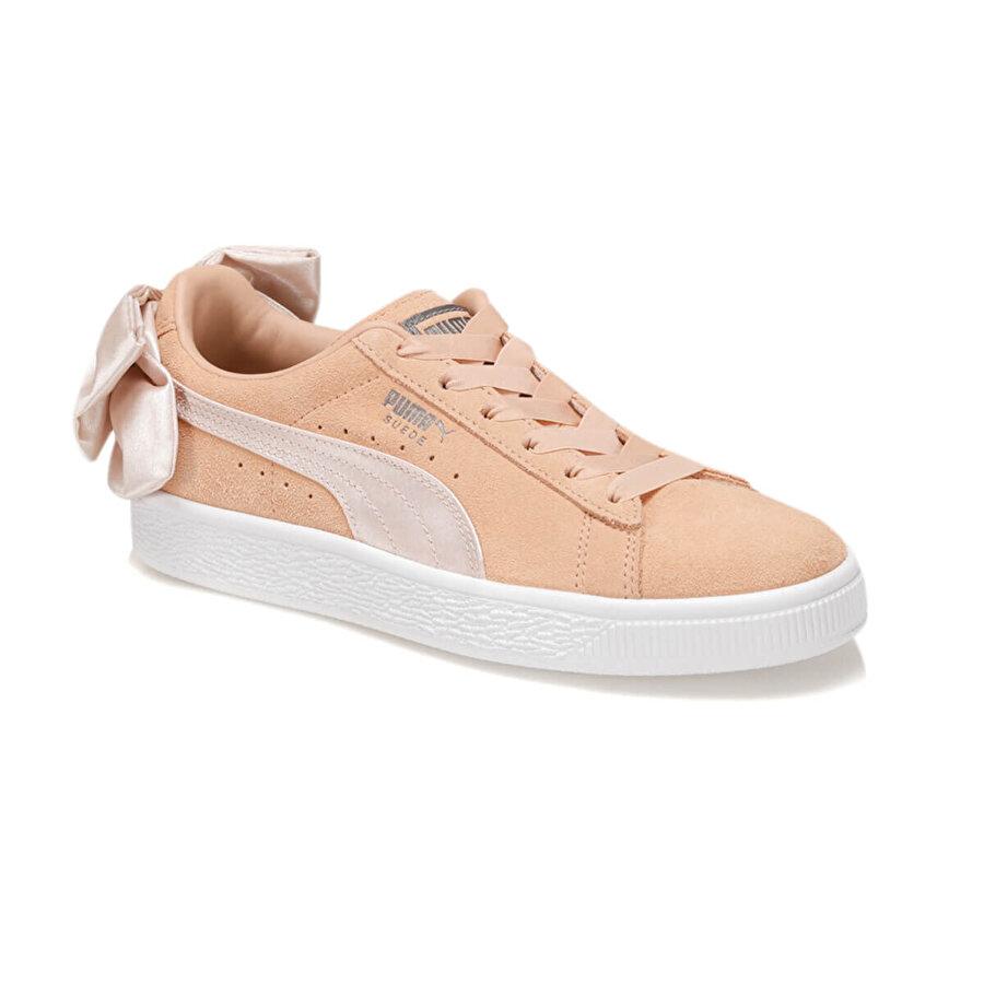 Puma SUEDE BOW WN S Pudra Kadın Sneaker
