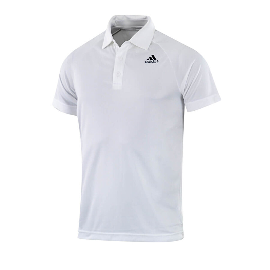adidas D2M POLO Beyaz Erkek Kısa Kol T-Shirt