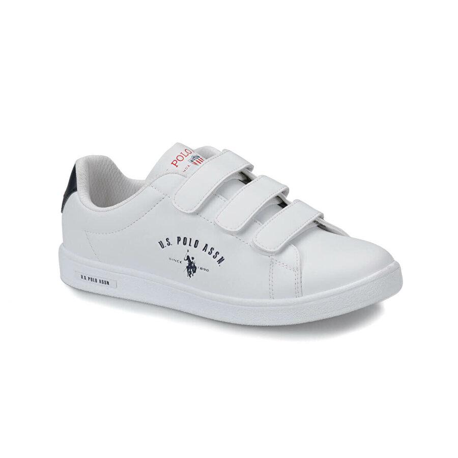 U.S. Polo Assn. SINGER Beyaz Kadın Sneaker Ayakkabı