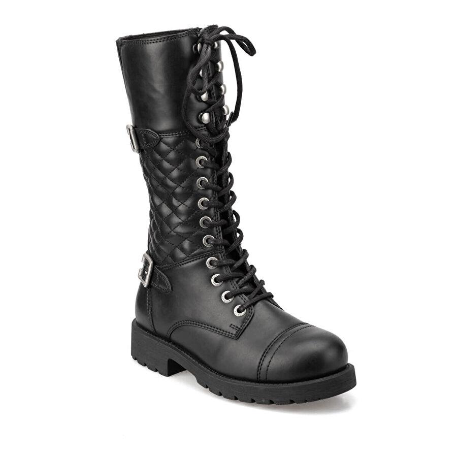 Kinetix JANNA 9PR Siyah Kadın Çizme