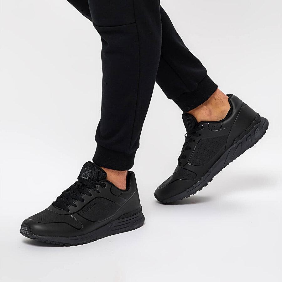 Kinetix NORTON M Siyah Erkek Sneaker Ayakkabı