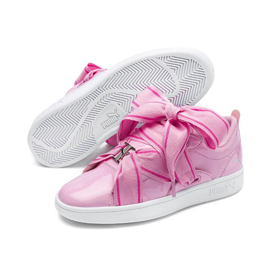 Puma SMASH V2 BKL PATENT JR Pembe Erkek Çocuk Sneaker