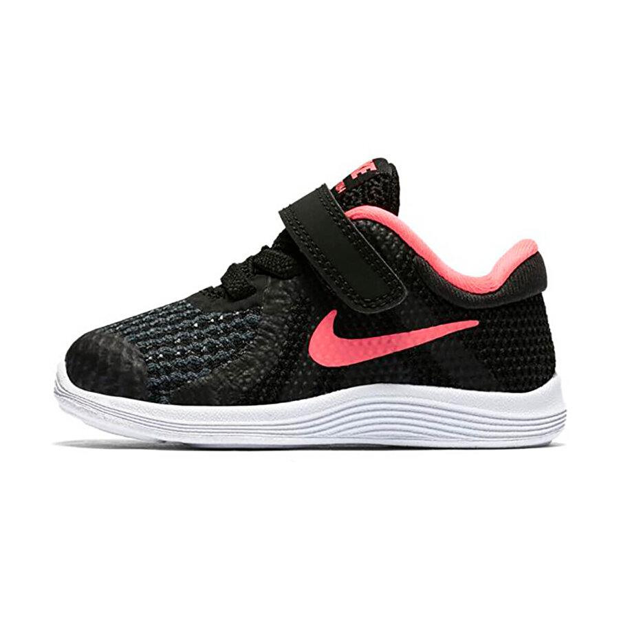 Nike REVOLUTION 4 (TDV) Siyah Kız Çocuk Koşu Ayakkabısı