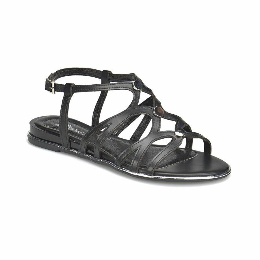 Butigo 18S-2A96348-3 Siyah Kadın Ayakkabı