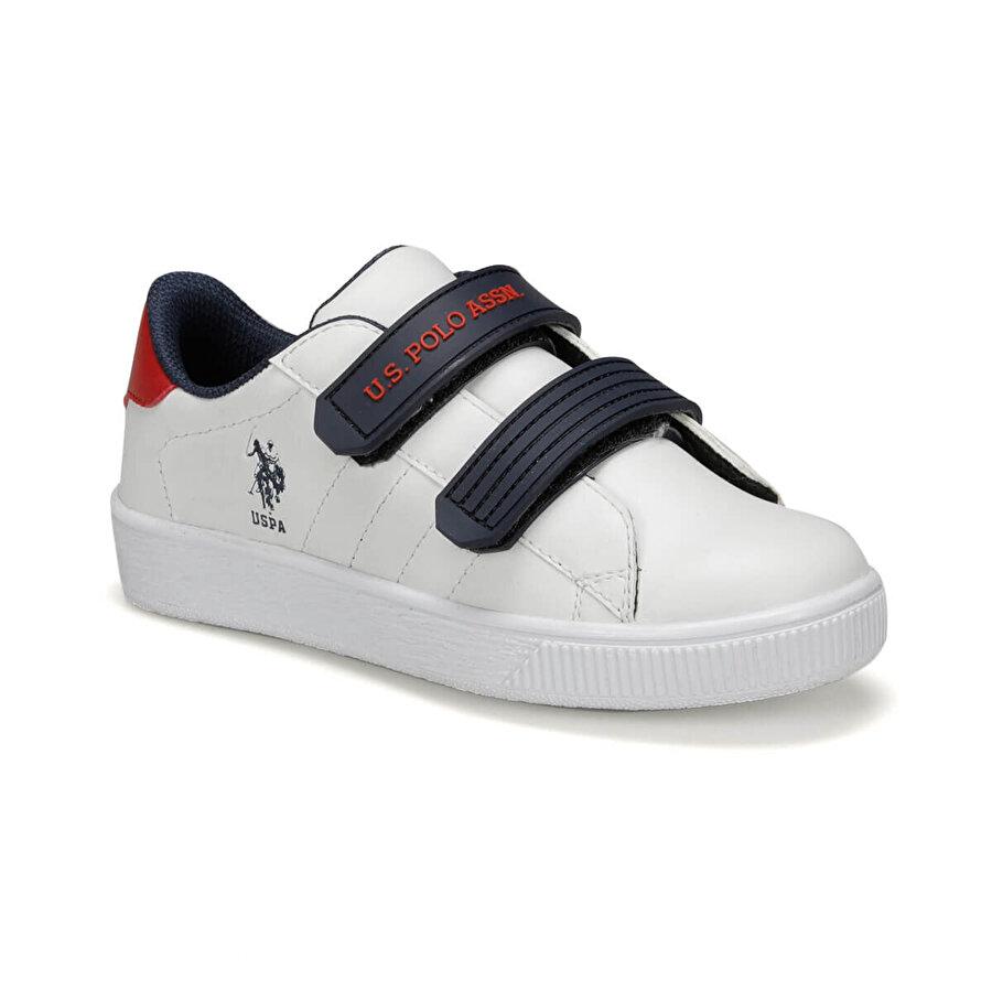 U.S. Polo Assn. CINO 9PR Beyaz Erkek Çocuk Sneaker Ayakkabı