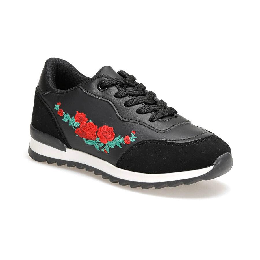 Seventeen NANATI.19F Siyah Kız Çocuk Spor Ayakkabı