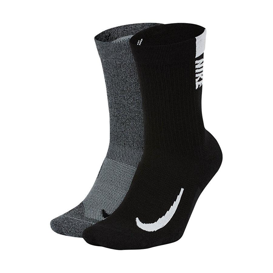 Nike U NK MLTPLIER CRW 2PR Çok Renkli Unisex Çocuk Çorap