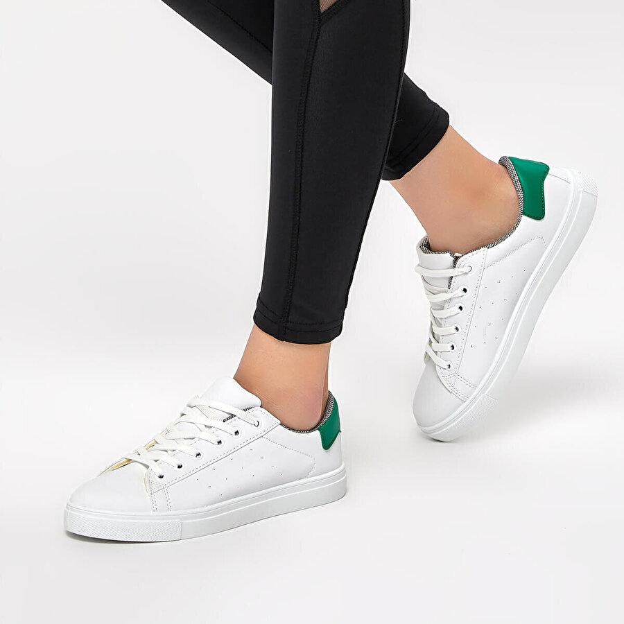 Polaris 91.354921.Z Yeşil Kadın Ayakkabı
