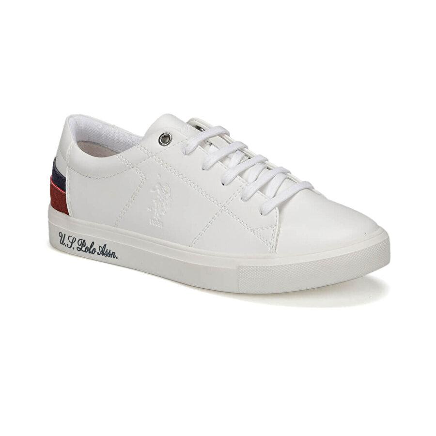U.S Polo Assn. SCOTT WT 9PR Beyaz Kadın Sneaker