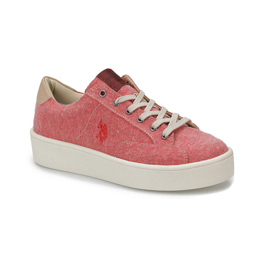 U.S. Polo Assn. MARIQ Kırmızı Kadın Sneaker Ayakkabı