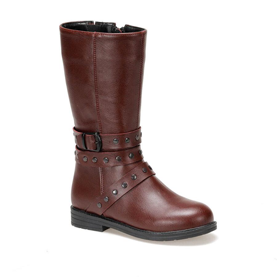 Seventeen PIERRE Bordo Kız Çocuk Basic Casual Ayakkabı