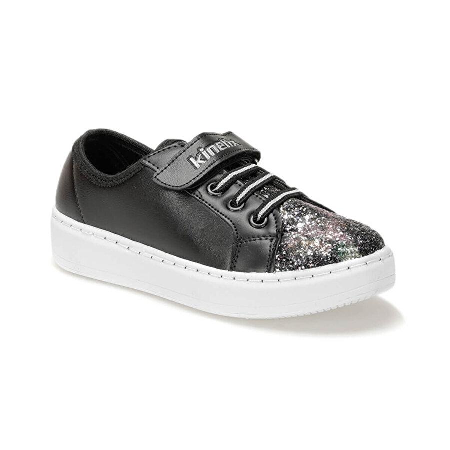 Kinetix SONA Siyah Kız Çocuk Sneaker Ayakkabı