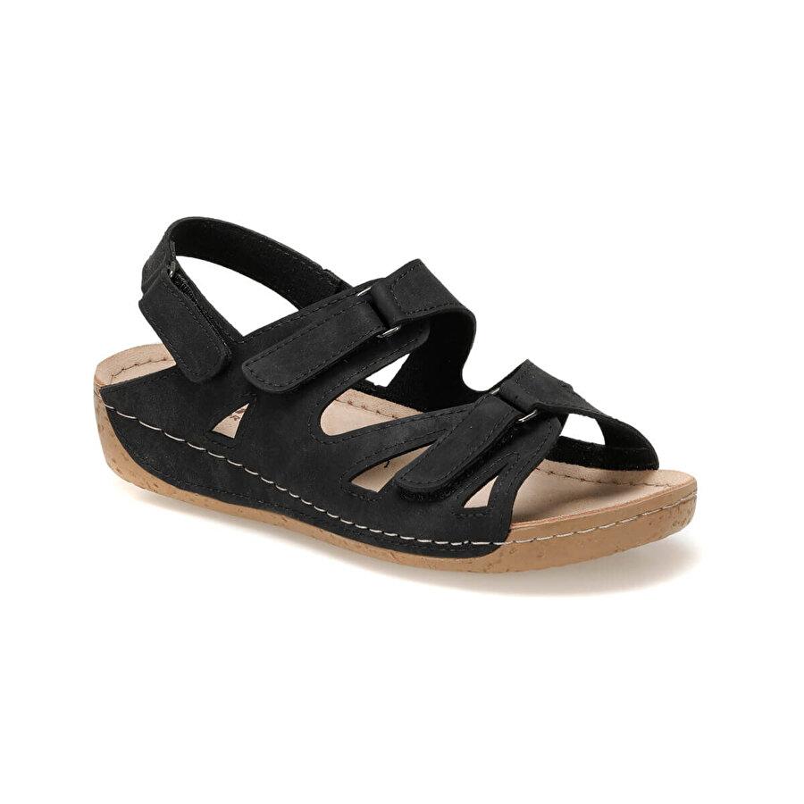 polaris 91.158532.Z Siyah Kadın Sandalet