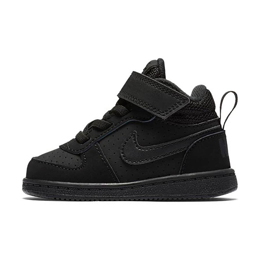 Nike COURT BOROUGH MID Siyah Erkek Çocuk Sneaker Ayakkabı