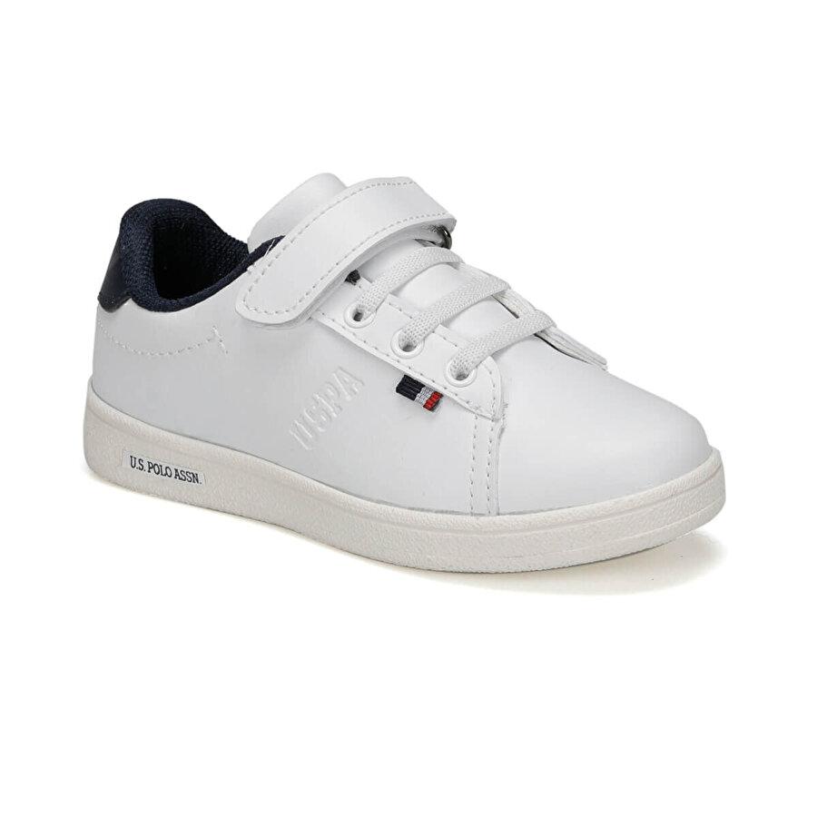 U.S. Polo Assn. FRANCO 9PR Beyaz Erkek Çocuk Sneaker Ayakkabı