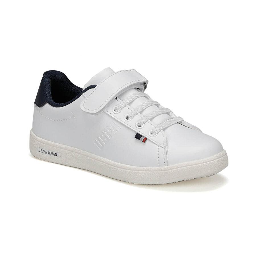 U.S Polo Assn. FRANCO 9PR Beyaz Erkek Çocuk Sneaker