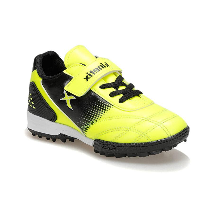 Kinetix FORLAN TURF 9PR Neon Sarı Erkek Çocuk Halı Saha Ayakkabısı