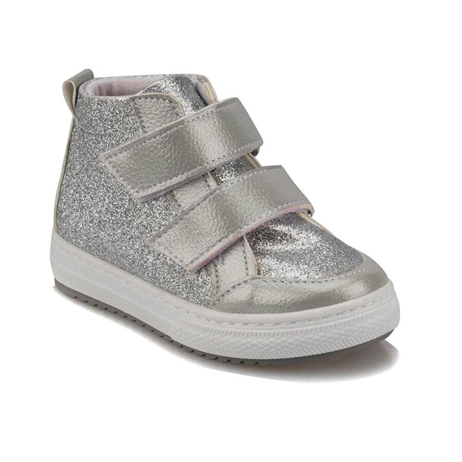 Polaris 92.512018.B Gümüş Kız Çocuk Sneaker Ayakkabı