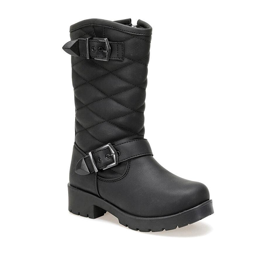 Kinetix LETUNE 9PR Siyah Kız Çocuk Basic Casual Ayakkabı