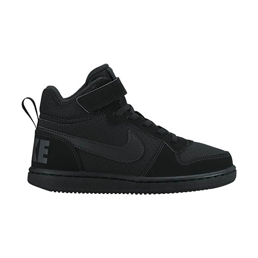 Nike COURT BOROUGH MID BP Siyah Erkek Çocuk Sneaker Ayakkabı