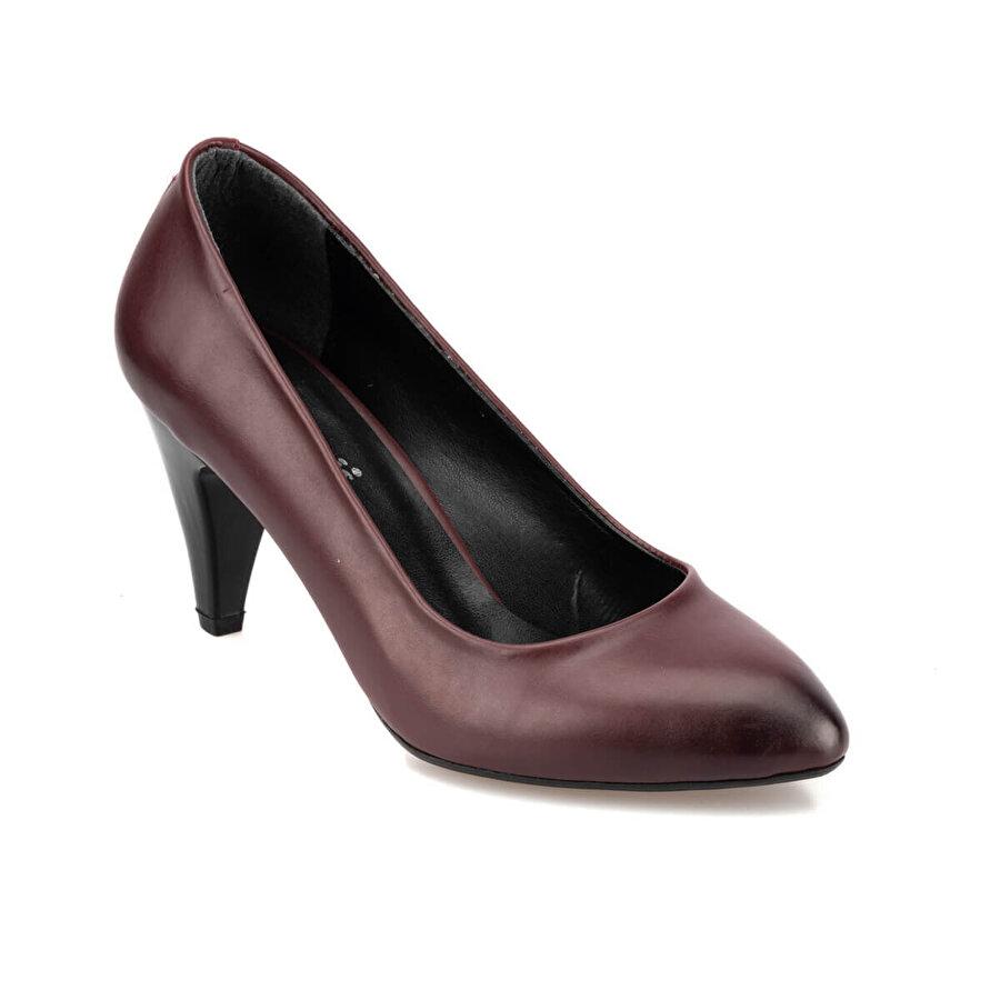 Polaris 92.309022.Z Bordo Kadın Gova Ayakkabı