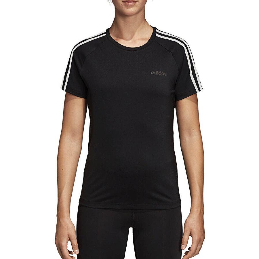 adidas W D2M 3S Siyah Kadın T-Shirt