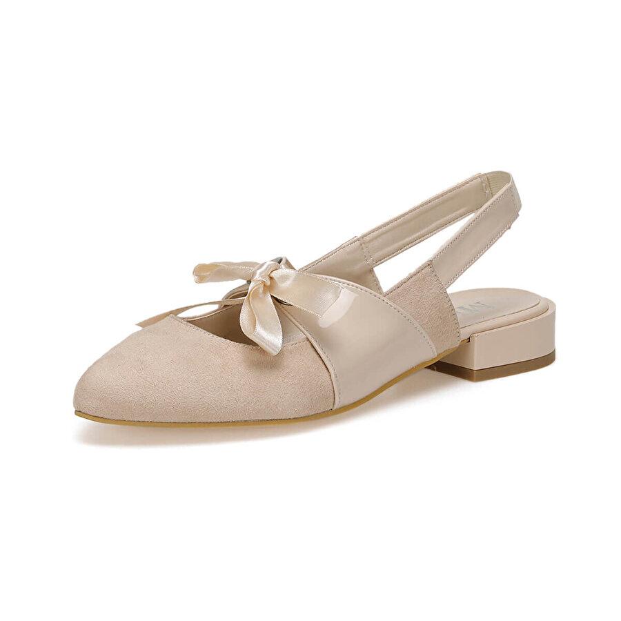 Miss F DS19021 Bej Kadın Ayakkabı