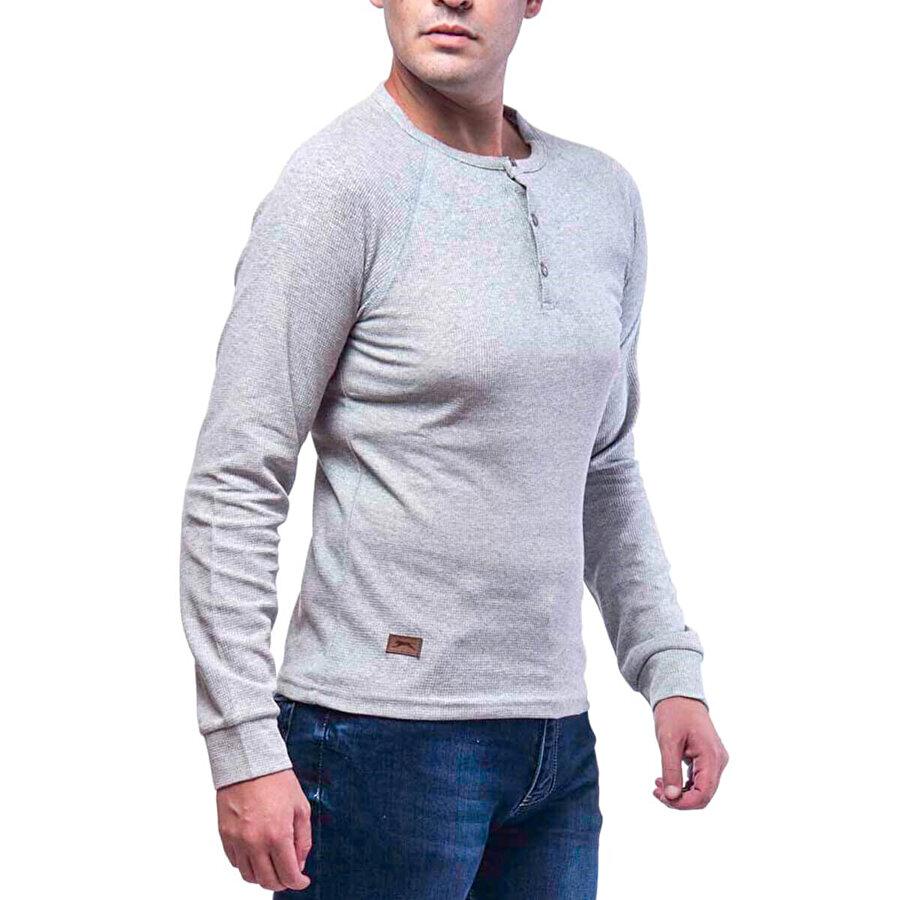 Slazenger KATRINA Gri Erkek Sweatshirt