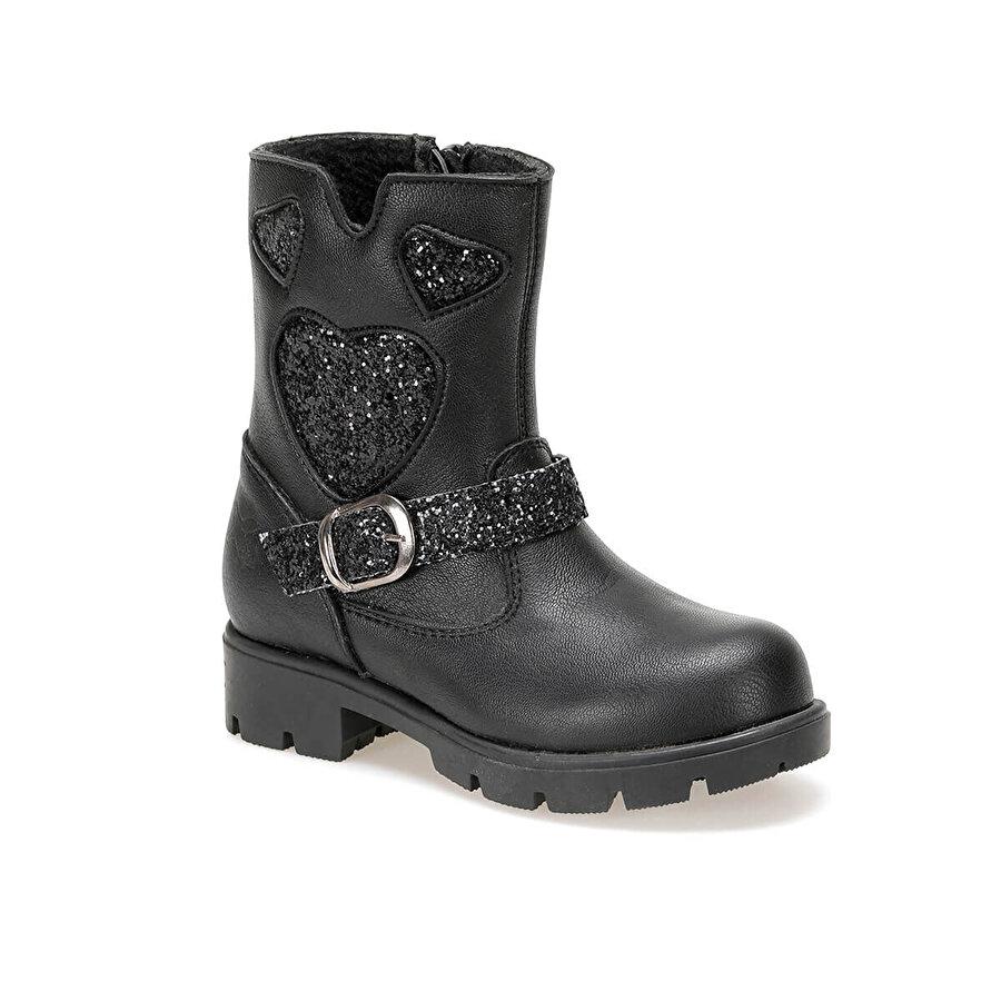 Kinetix RIMMA 9PR Siyah Kız Çocuk Basic Casual Ayakkabı