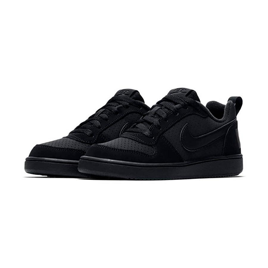 Nike COURT BOROUGH LOW (GS) Siyah Erkek Çocuk Sneaker Ayakkabı