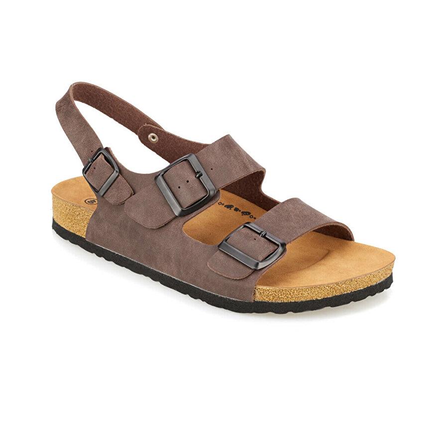 Kinetix FEDON Kahverengi Erkek Sandalet