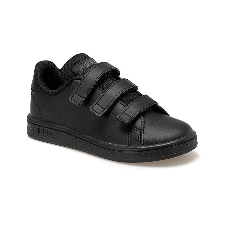 adidas ADVANTAGE Siyah Unisex Çocuk Sneaker Ayakkabı
