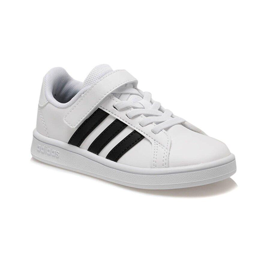 adidas GRAND COURT Beyaz Unisex Çocuk Sneaker Ayakkabı