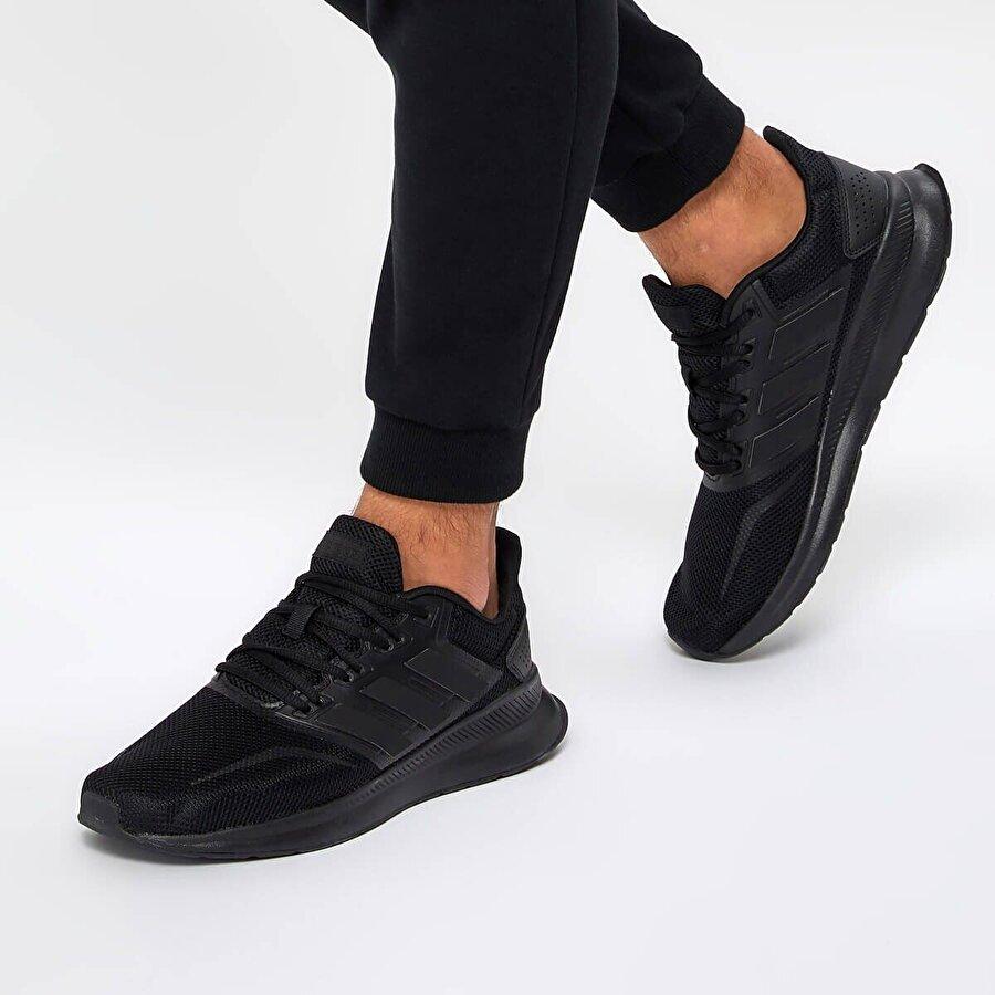 adidas RUN7 Siyah Erkek Koşu Ayakkabısı