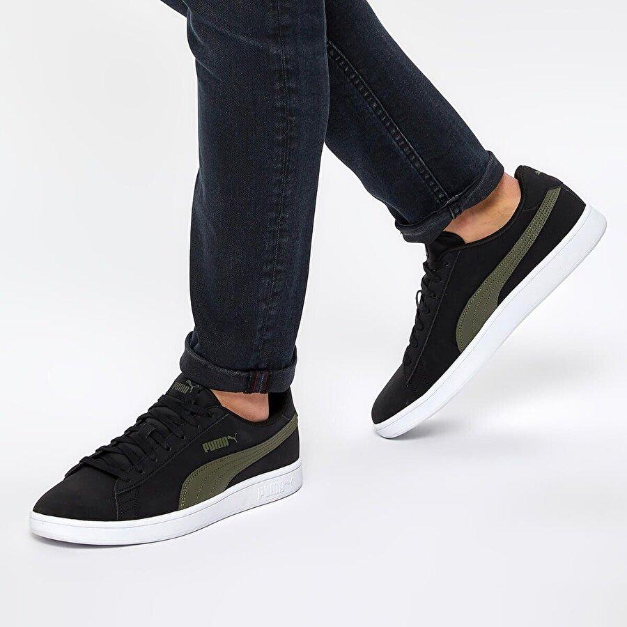 Puma SMASH V2 BUCK Siyah Erkek Sneaker