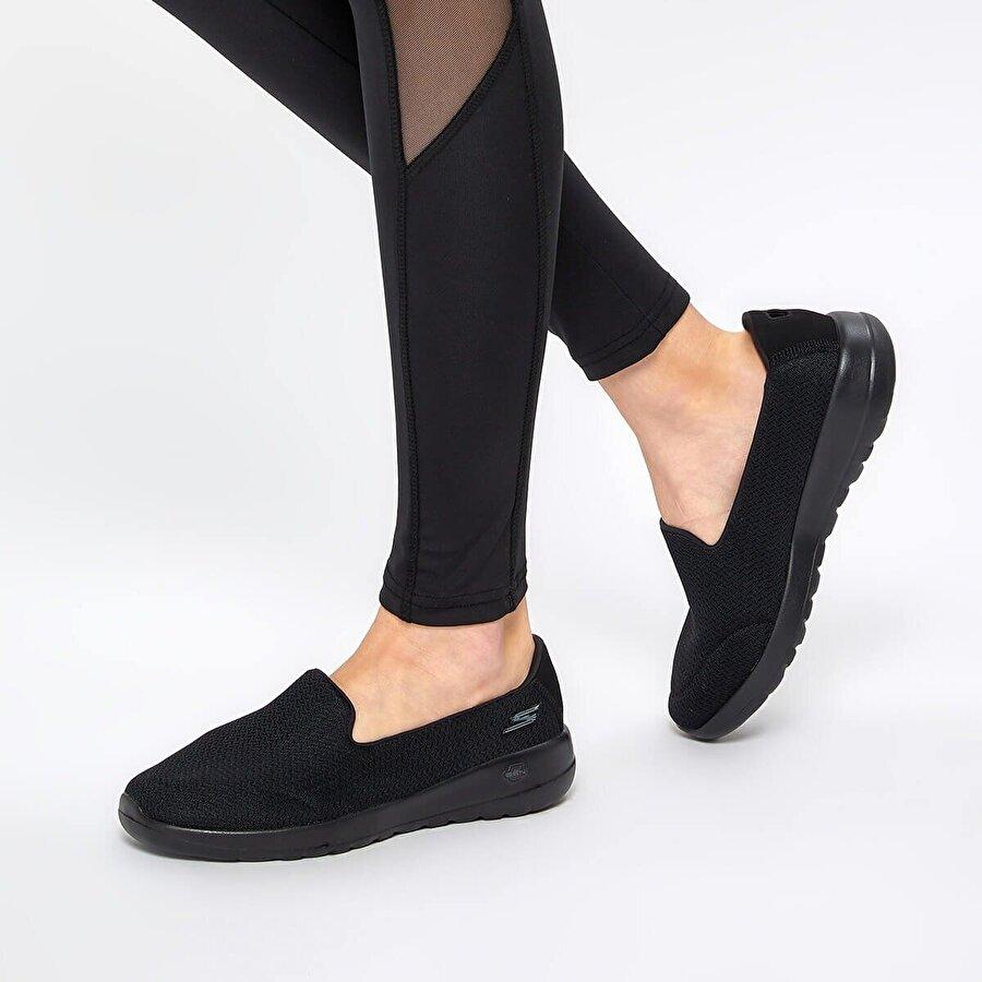 Skechers GO WALK JOY- SPLENDID Siyah Kadın Yürüyüş Ayakkabısı