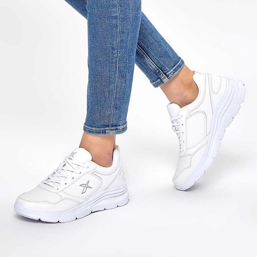 Kinetix SUOMY 9PR Beyaz Kadın Comfort Ayakkabı