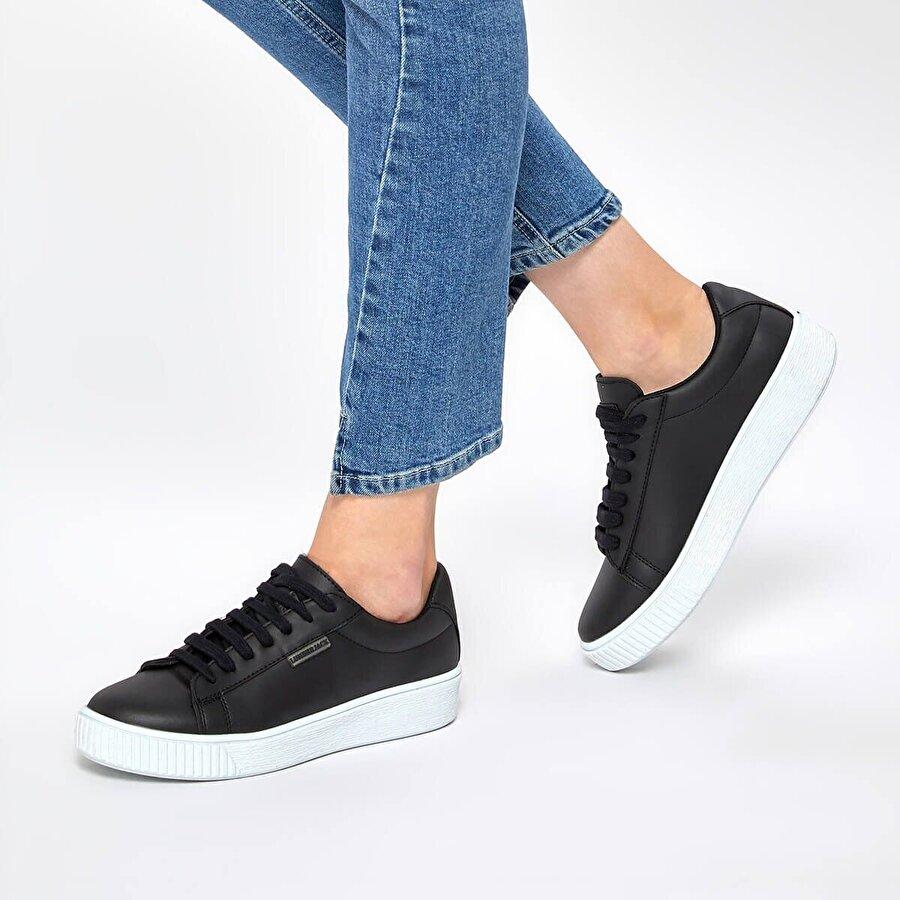 Lumberjack CANDY 9PR Siyah Kadın Sneaker Ayakkabı