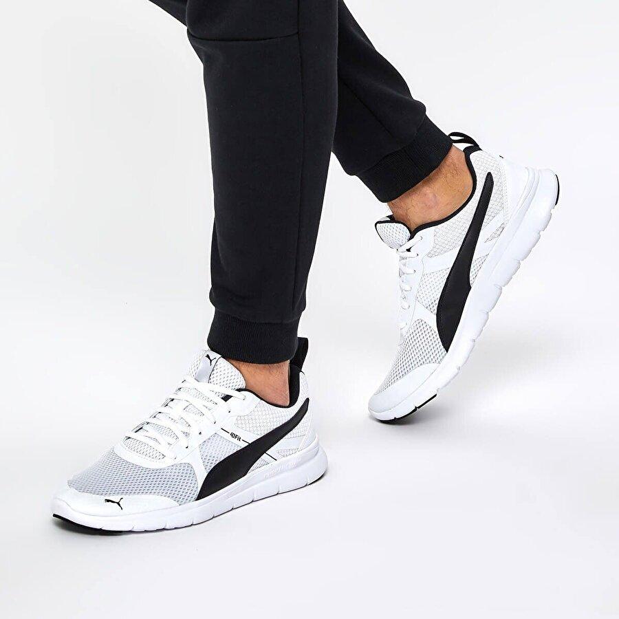 Puma FLEX ESSENTIAL CORE Beyaz Erkek Koşu Ayakkabısı