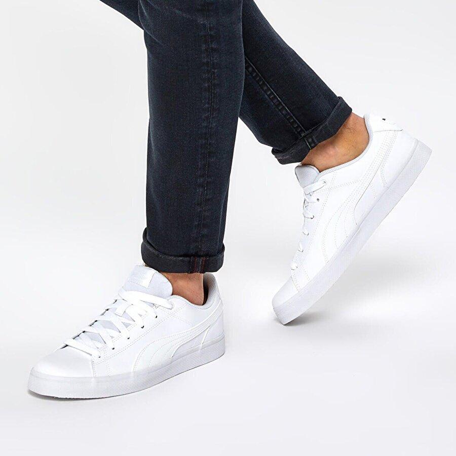 Puma COURT POINT VULC V2 Beyaz Erkek Sneaker