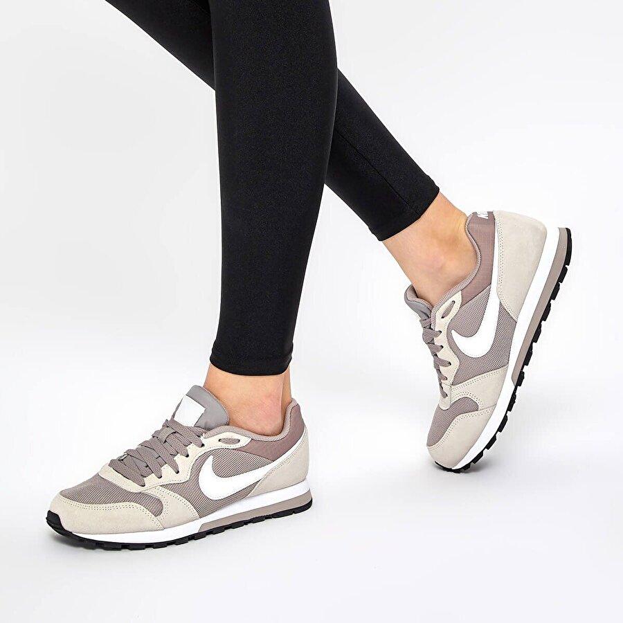 Nike MD RUNNER 2 Gri Kadın Sneaker Ayakkabı