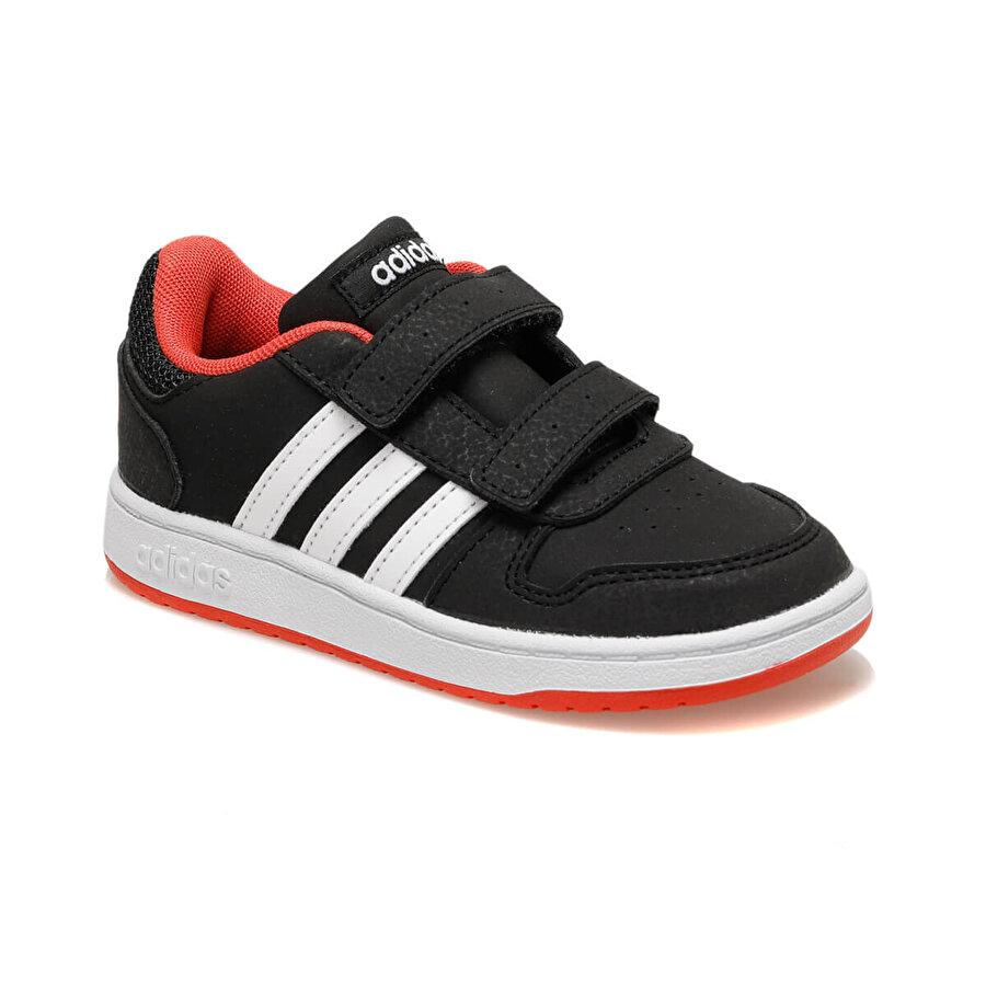 adidas HOOPS 2.0 Siyah Erkek Çocuk Sneaker Ayakkabı