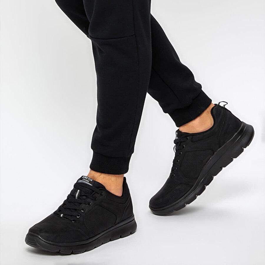 Kinetix CRESTO 9PR Siyah Erkek Sneaker Ayakkabı