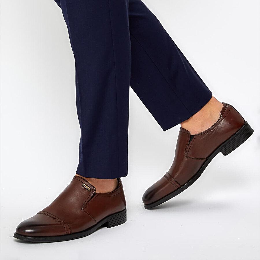 Mercedes AMOS 9PR Kahverengi Erkek Ayakkabı
