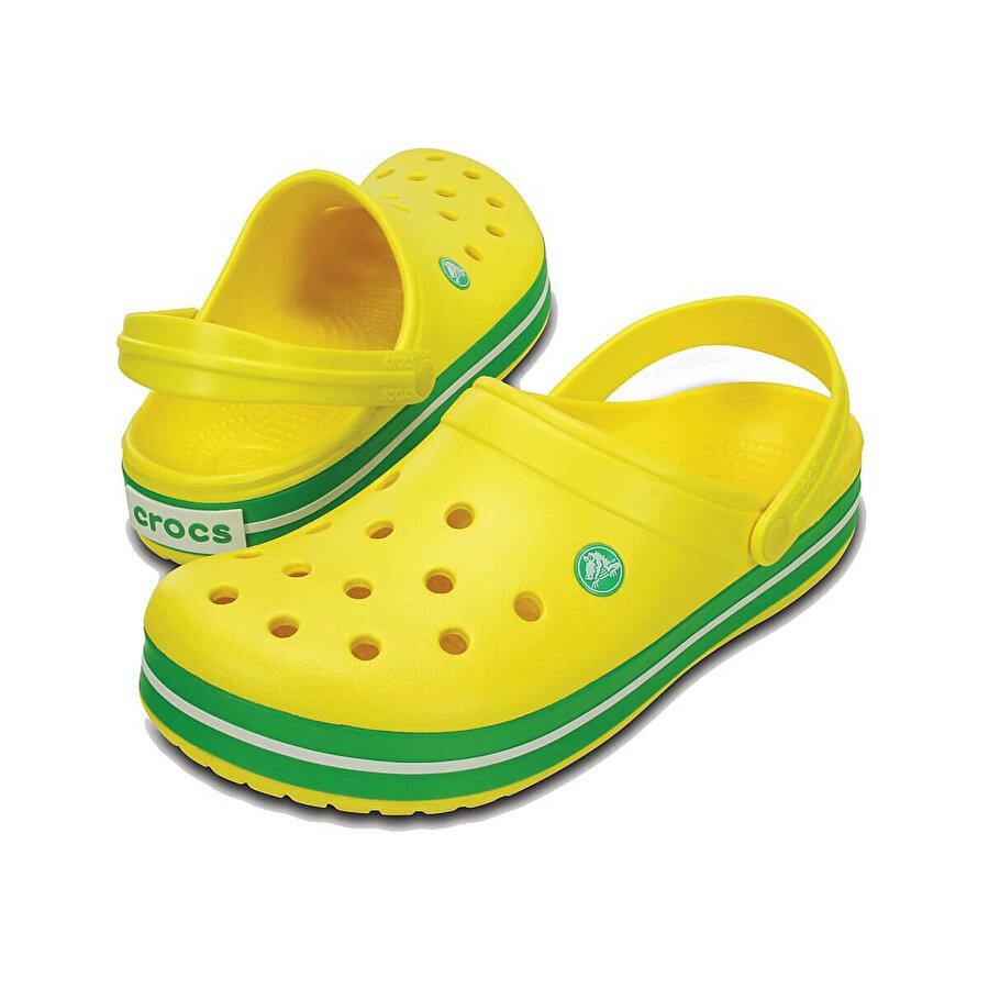 Crocs CROCBAND LEMON-GRASS GREE Sarı Erkek Sabo Terlik