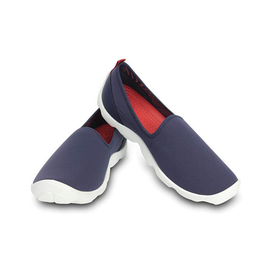 Crocs DUET BUSY DAY SKIMMER WOM Lacivert Kadın Slip On Ayakkabı