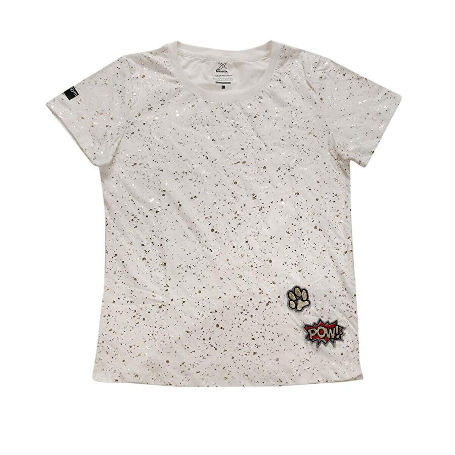 Kinetix KOOP T-SHİRT Ekru Kadın T-Shirt